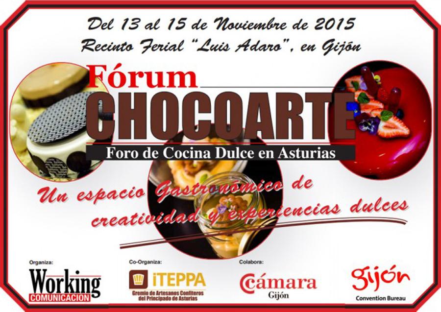 Asturias celebra su i f rum de chocoarte - Cursos cocina asturias ...