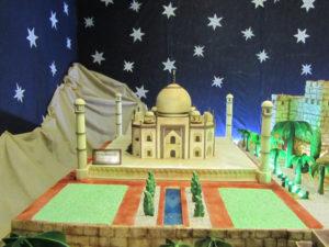 Belen de chocolate de Rute - Taj Mahal