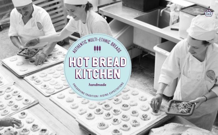 Proyecto solidario Hot Bread Kitchen de formación en panadería