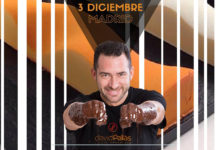 Cartel Master class Chocolate con David Pallás