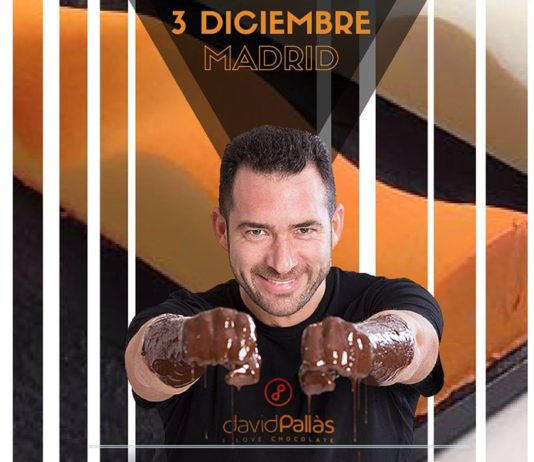 Cartel Master class Chocolate con David Pallás