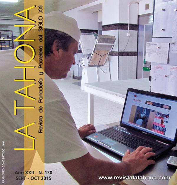 Portada Revista de panadería y pastelería española La Tahona nº 130