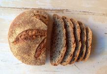 El pan en la alta gastronomía. Pan de lino y centeno
