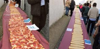 La rebaná más grande del mundo y el concurso del mejor pan malagueño