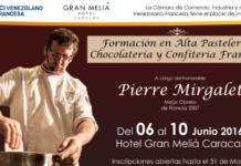 Pierre Mirgalet vuelve con su Alta Pastelería Francesa a Venezuela