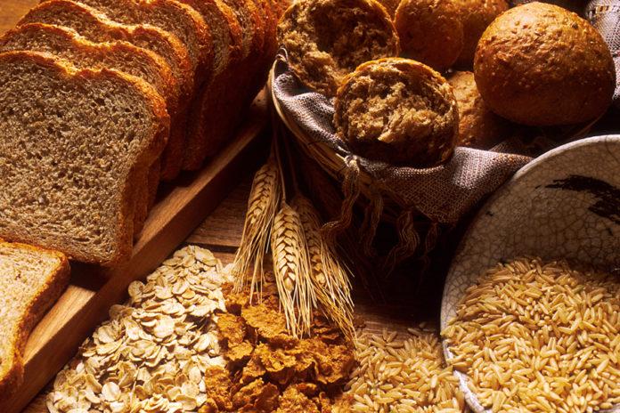 Pan integral y cereales