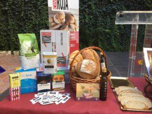 Bodegón de la presentación del Día Mundial del Pan en Córdoba