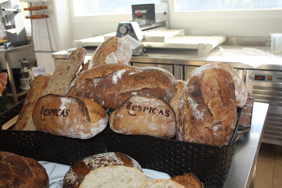 piezas de pan realizadas en la última concentración del año de Los Espigas en Madrid
