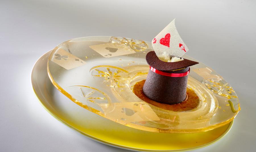 Pastel del Cartel Coupe du Monde de la Pâtisserie 2017