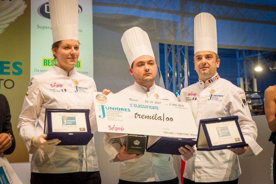 Francia 3º puesto en el IV Campeonato mundial de pastelería junior