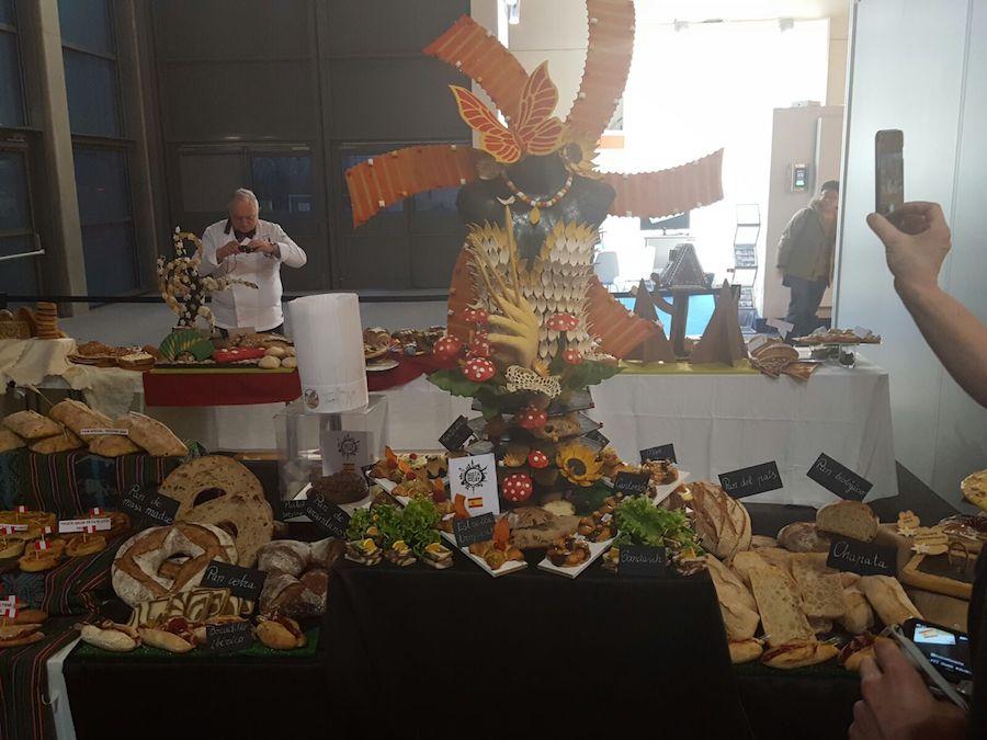 Presentación premiada de España subcampeona del Concurso internacional Bread in the city