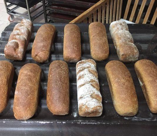 Muestra de panes del curso de panes para intolerantes y alérgicos en Almería