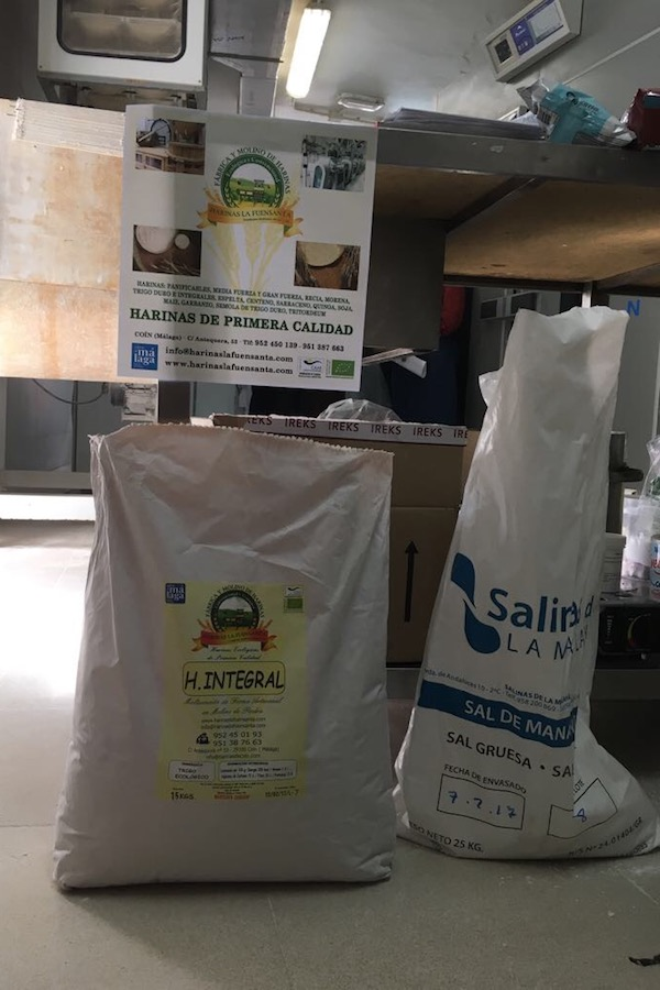 Harinas la Fuensanta en el curso de panes para intolerantes y alérgicos en Almería