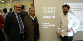 Comienzan las Jornadas profesionales de Harinas Moretó y Daniel Jordá en Barcelona