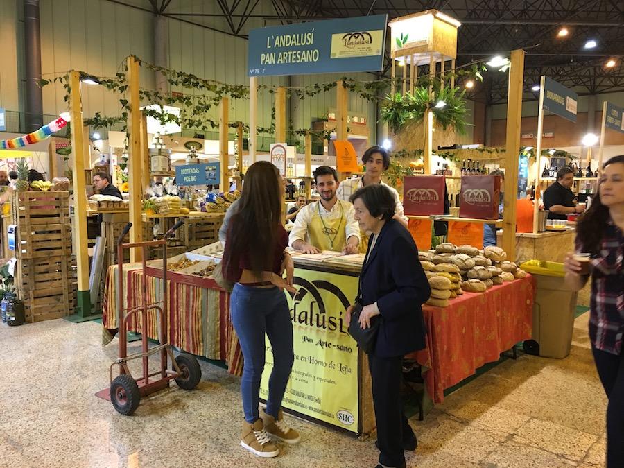 Biocultura Sevilla - Stand Panadería La Andalusí