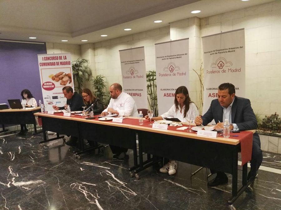 Concurso de las mejores torrijas de Madrid 2017 - Jurado