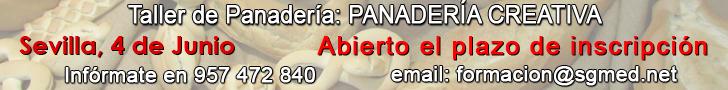 Curso de panadería creativa con José Roldán. Sevilla 4 de junio de 2017