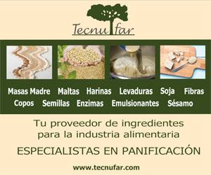 Tecnufar ingredientes para panadería y pastelería