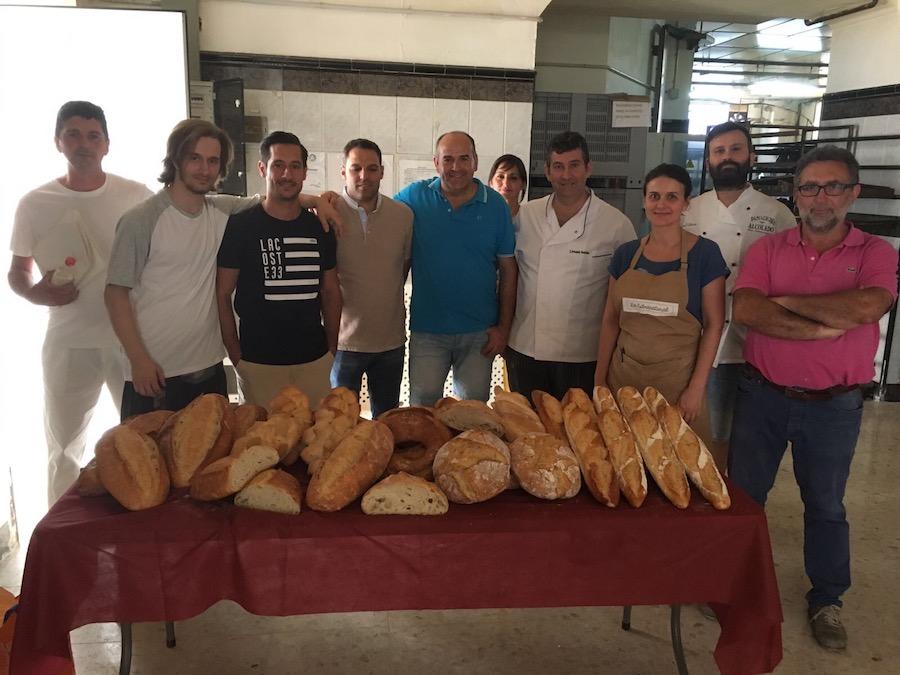Grupo de alumnos en Curso de Aplicación y técnicas de frío para panadería en Córdoba