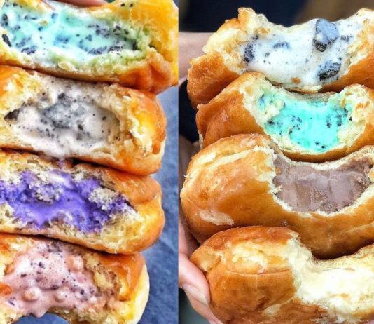 Halo donut - donut relleno de helado