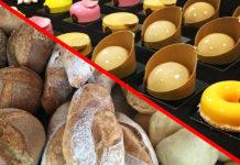 ¿En tu casa o en la mía?¿panadería o pastelería?