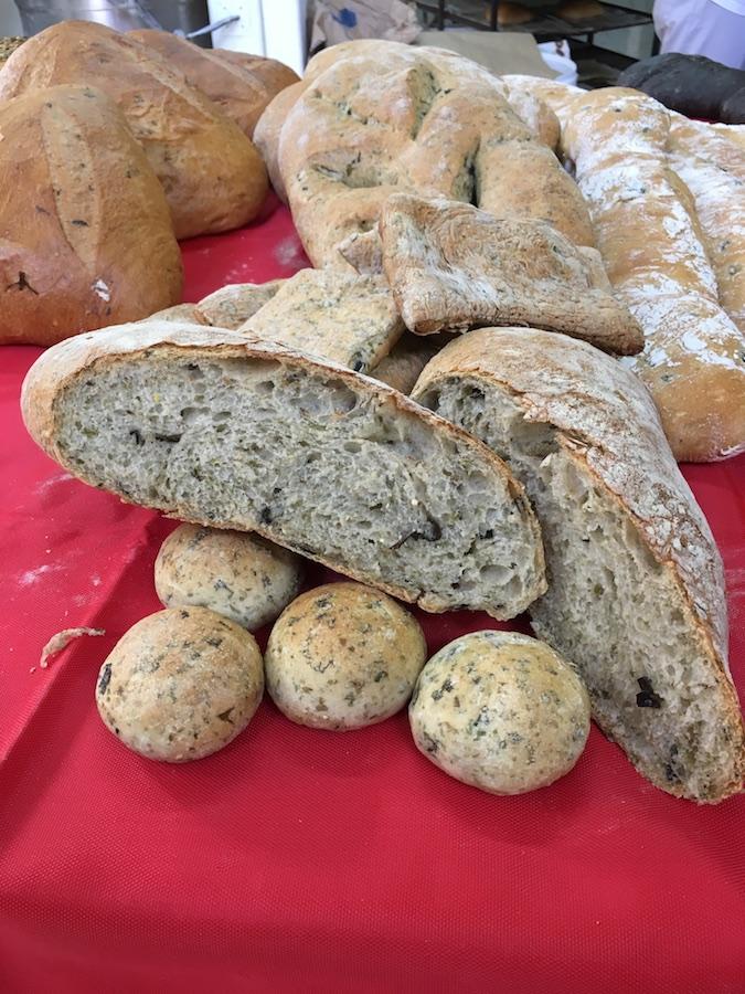 Curso panes de alta gama para restauración - Pan agua de mar y algas
