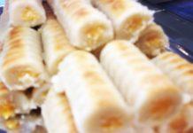 Receta de Huesos de Santo (Panadería - Pastelería Alcolado)