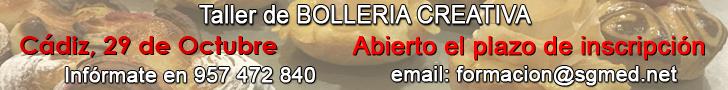 Curso de Bollería creativa con José Roldán. Cádiz, 29 de octubre de 2017