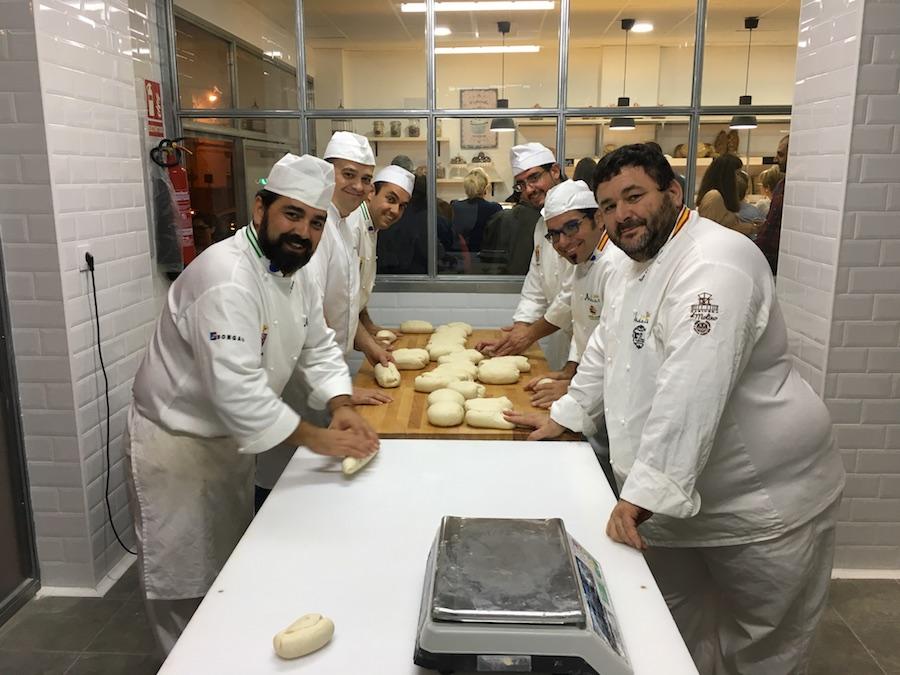 Inauguración de La Tahona del artesano en San Fernando - Panaderos