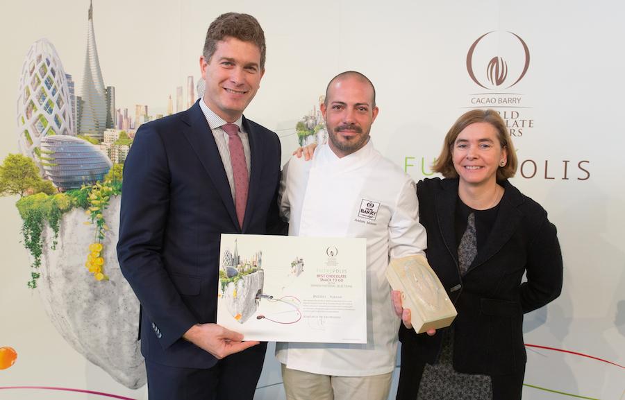 Premio al Chocolate snack to go de Andres Moreno