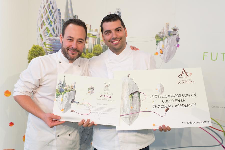 Sergio Ortíz 2º clasificado del Spanish Chocolate Masters 2017