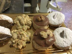 Curso de pastelería de Navidad en Motril -mantecados y rocas