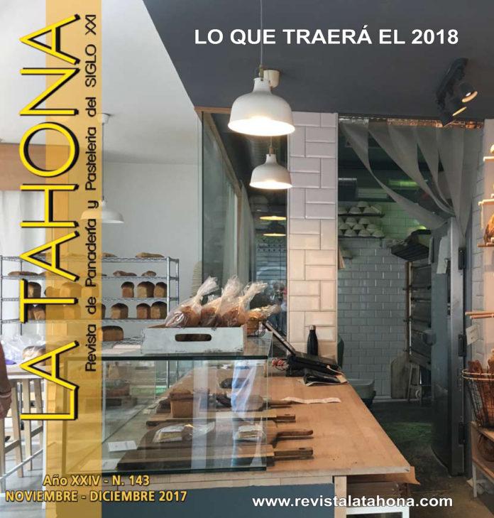 Portada Revista La Tahona 143. Noviembre - diciembre 2017