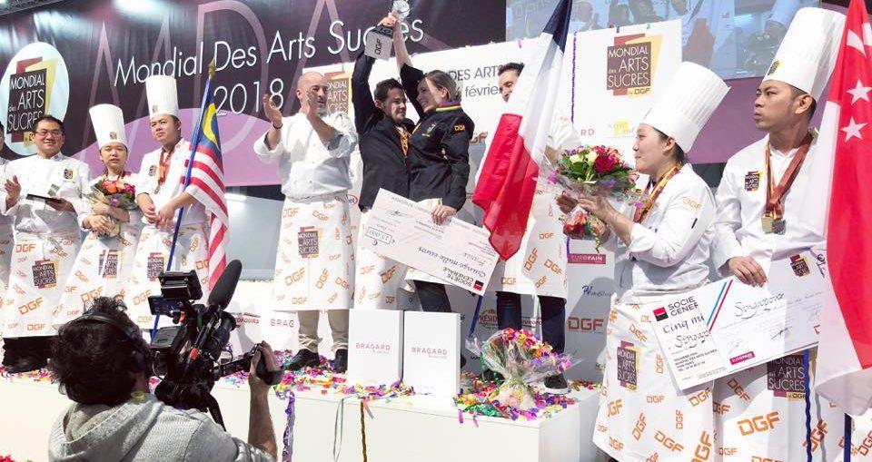 Francia campeona del Mondial des Arts Sucrés 2018