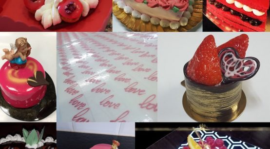 Pastelería de San Valentín 2018
