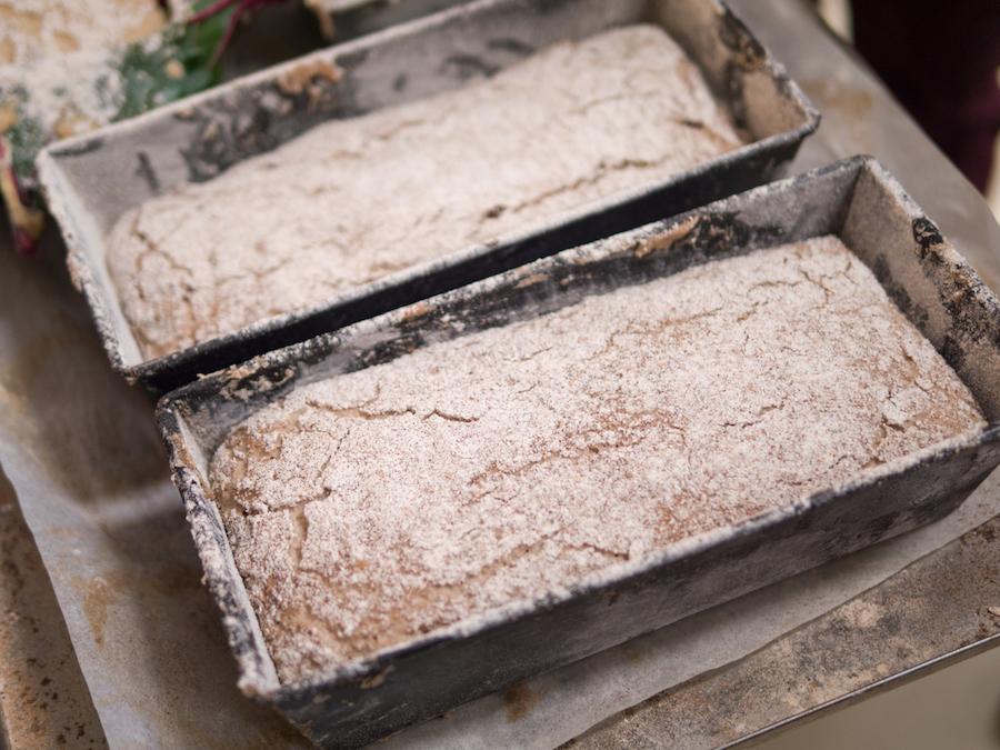 Panes gallegos de Juan Luis Estévez - pan de maiz