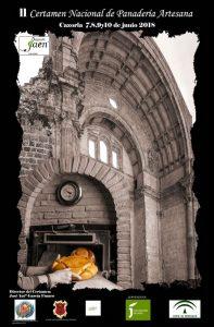 Cartel del II Certamen Nacional de Panadería artesana de Cazorla