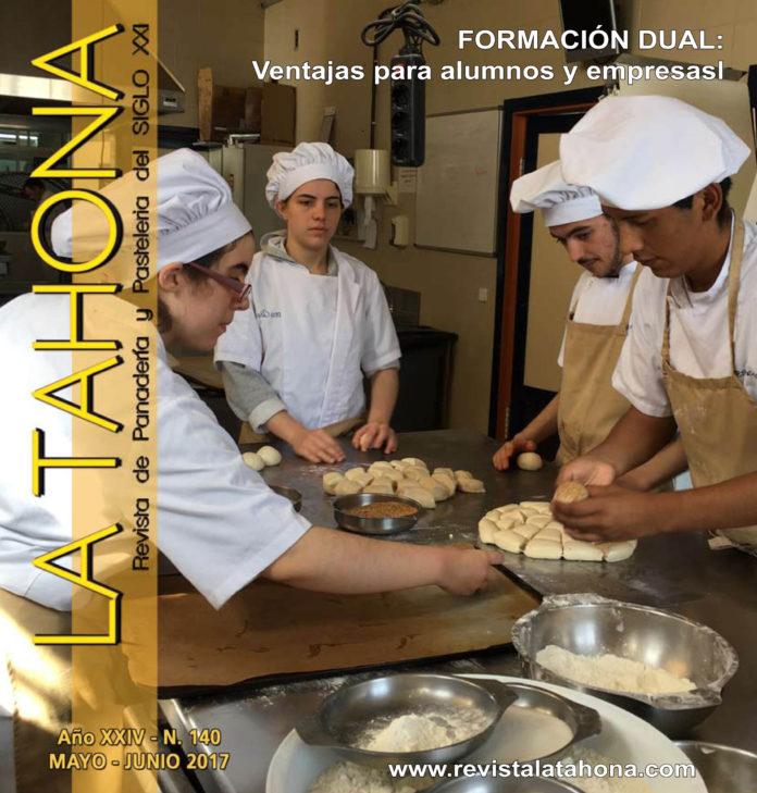 Portada Revista La Tahona 140 - FP Dual