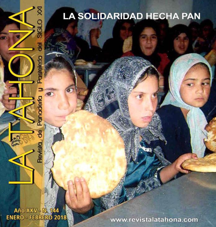 Portada Revista La Tahona 144 - La solidaridad hecha pan