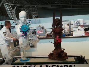 European pastry cup 2018 - Bélgica esculturas