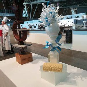 European pastry cup 2018 - Suiza esculturas