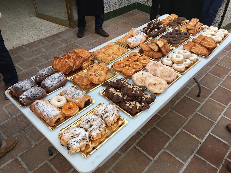 Curso Hojaldre al 100% en Córdoba - buffet completo de elaboraciones