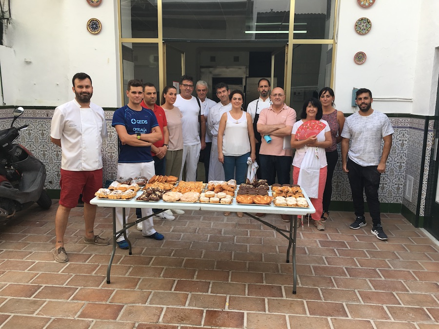 Curso Hojaldre al 100% en Córdoba - grupo del curso