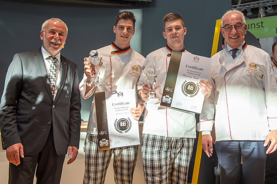 iba-UIBC-Cup of Bakers 2018 - Alemania 2º premio