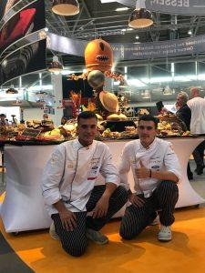 iba-UIBC-Cup of Bakers 2018 - Equipo Espigas España y su buffet
