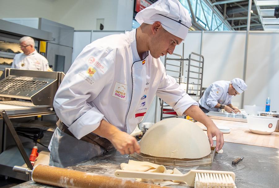 iba-UIBC-Cup of Bakers 2018 - España trabajando