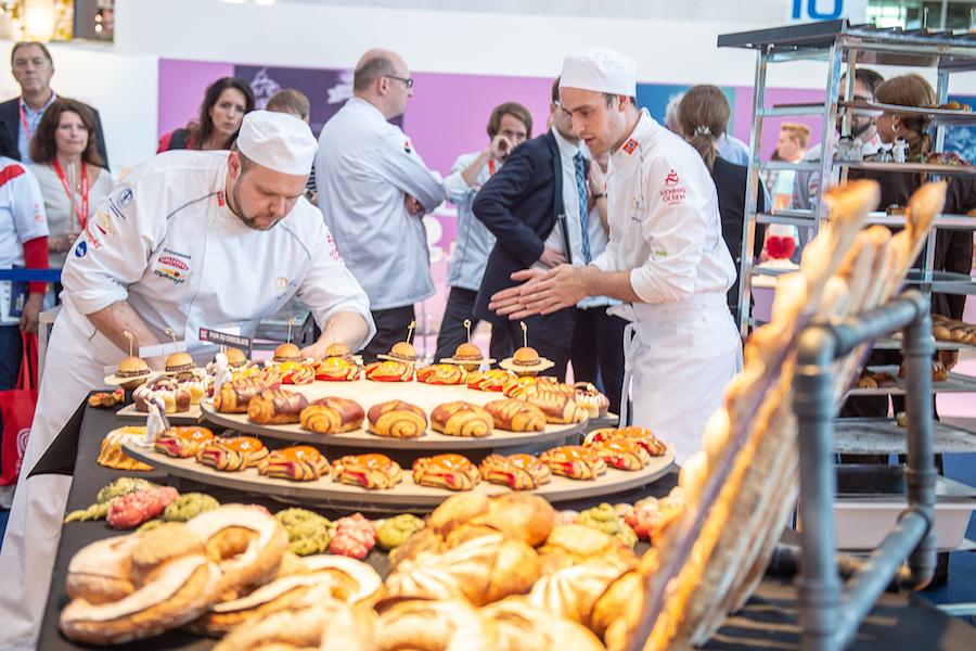 iba-UIBC-Cup of Bakers 2018 - Noruega 3º premio - buffet