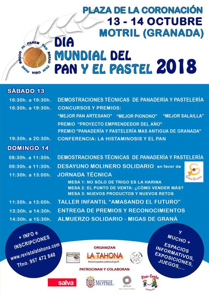 Programa del Día Mundial del Pan y el Pastel 2018