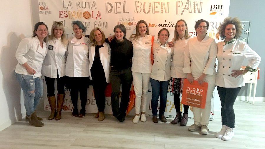 Las 11 Mujeres de la Ruta Española del buen pan 2018