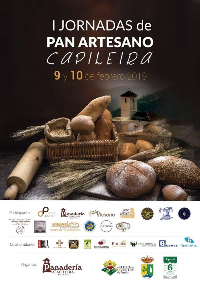Cartel de las I Jornadas de Pan artesano en Capileira